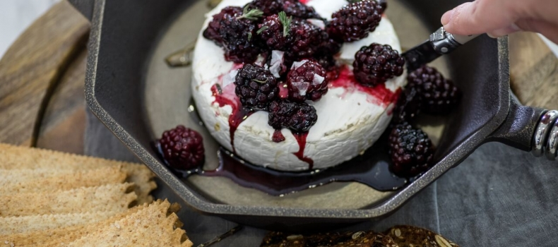 Balsamic Blackberry Brie