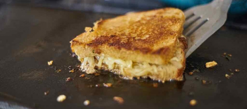 Caramelized Shallot & Thyme Grilled Cheese